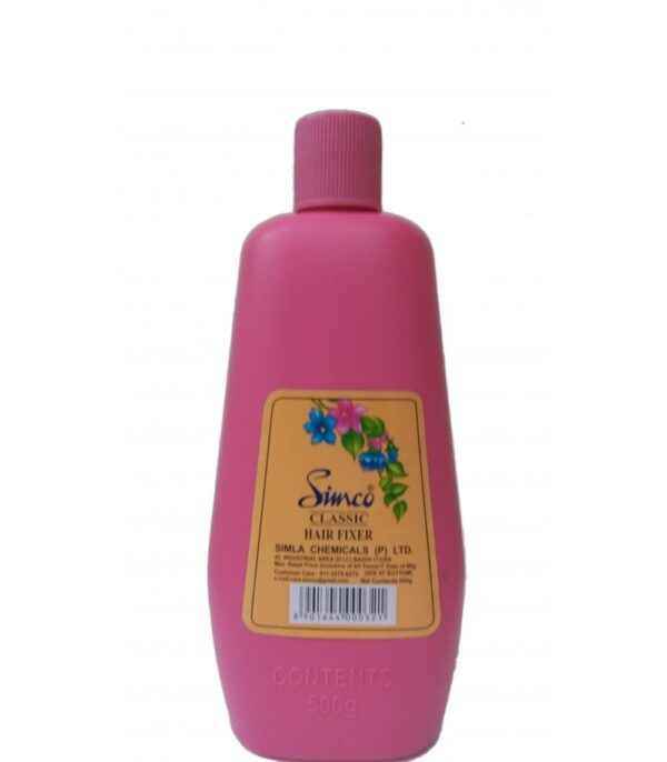 Simco Hair fixer Classic Pink 500gm frontSHFP500 rs.302-1000×1143