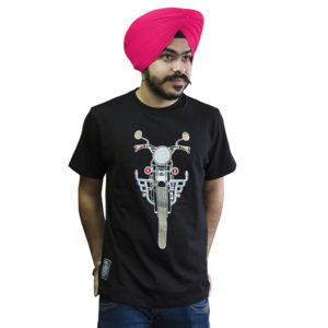 Black T-Shirts with Punjabi Slogan
