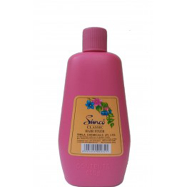 Simco Hair fixer Classic Pink 500gm frontSHFP500 rs.302-262×299