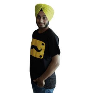 Printed Punjabi T-Shirt