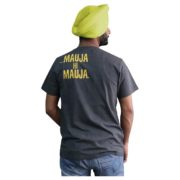 Round Neck Punjabi T-Shirt with Slogan