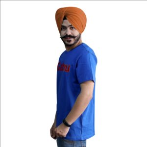 Round Neck Punjabi T-Shirt